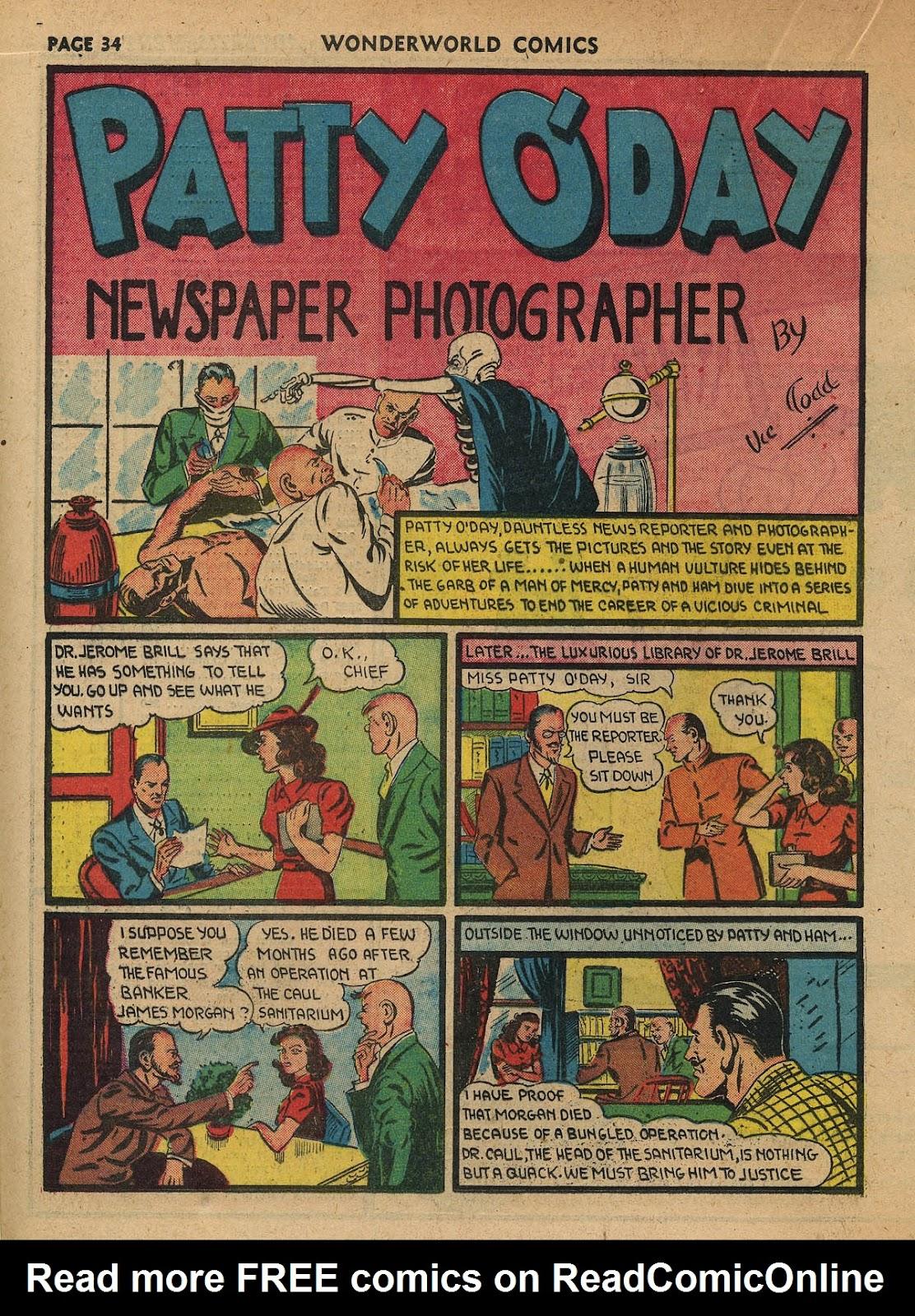 Wonderworld Comics issue 23 - Page 35