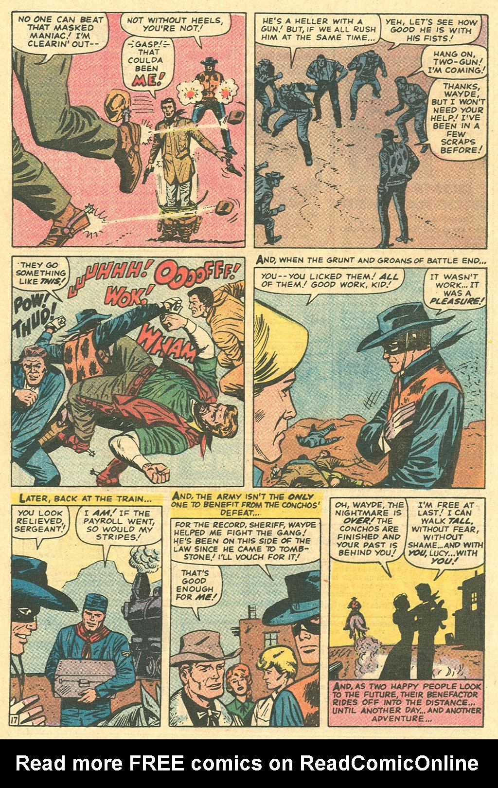 Read online Two-Gun Kid comic -  Issue #96 - 25