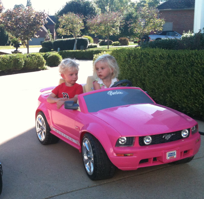 Krazy Krouse Kids The Pink Barbie Car