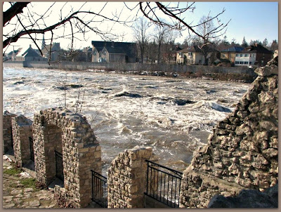Grand River Flow >> Body Soul And Spirit Grand River In Flood