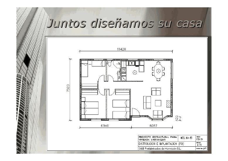 Casas de madera prefabricadas casas prefabricadas for Planos casas prefabricadas