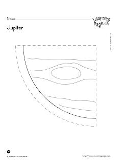 Preschool Is Fun Planning Activities: Planet Ratio in Our