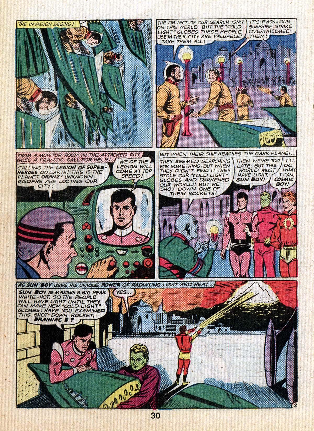 Read online Adventure Comics (1938) comic -  Issue #500 - 30