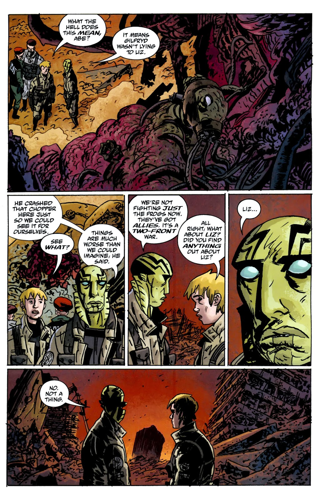 B.P.R.D.: The Warning issue 5 - Page 12