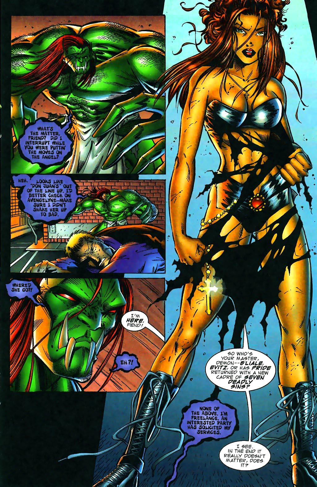 Read online Avengelyne (1996) comic -  Issue #1 - 22