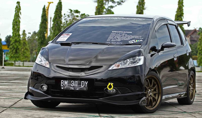 download foto modifikasi honda jazz