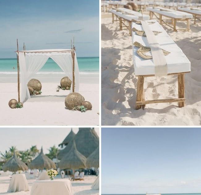 Memorable Wedding Ideas: Memorable Wedding: Building A Beach Wedding Theme (Even In