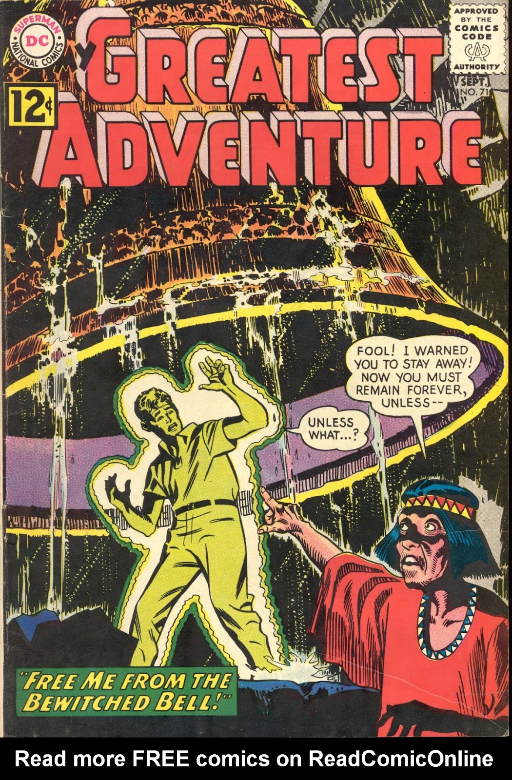 My Greatest Adventure (1955) 71 Page 1
