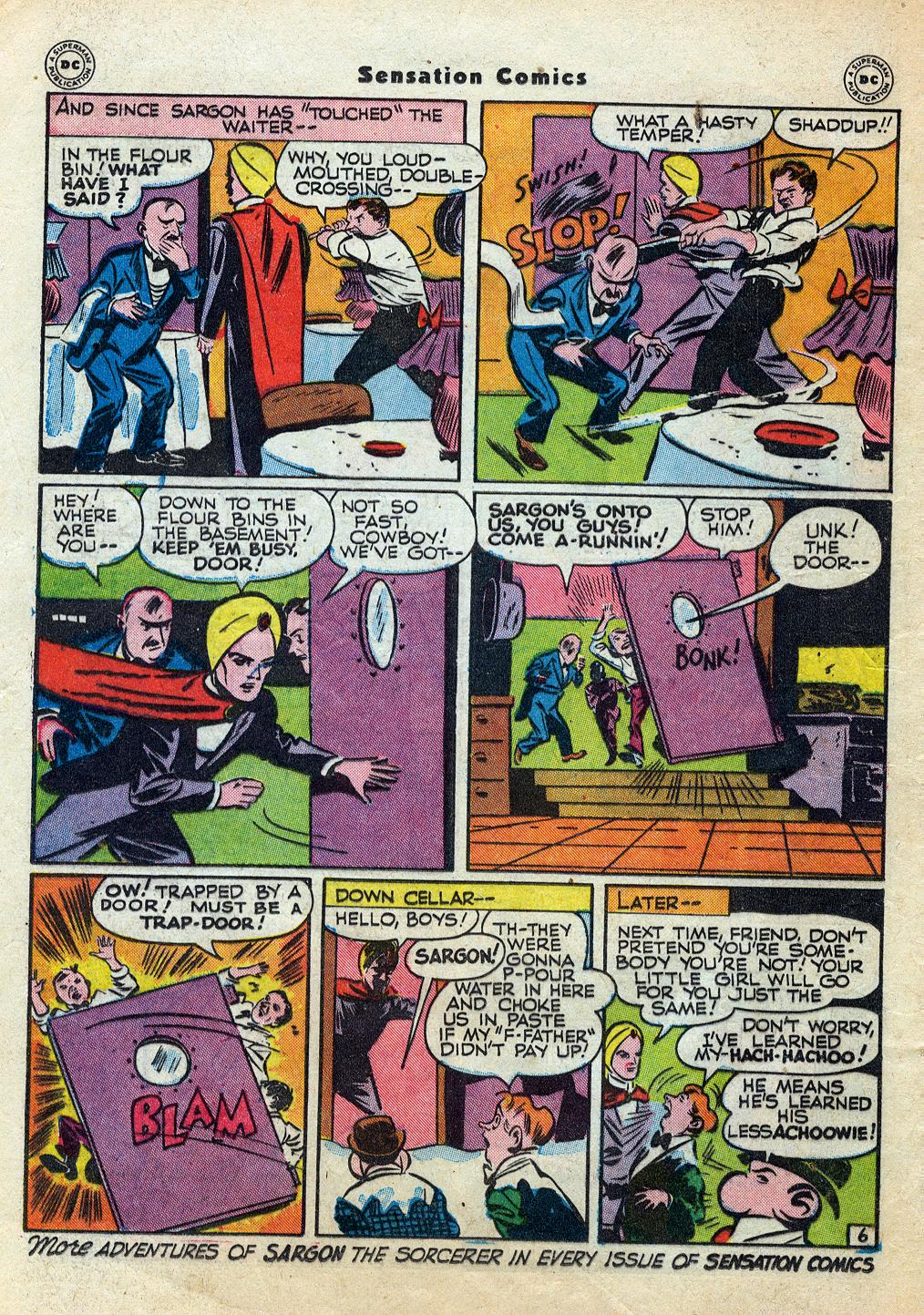 Read online Sensation (Mystery) Comics comic -  Issue #60 - 30