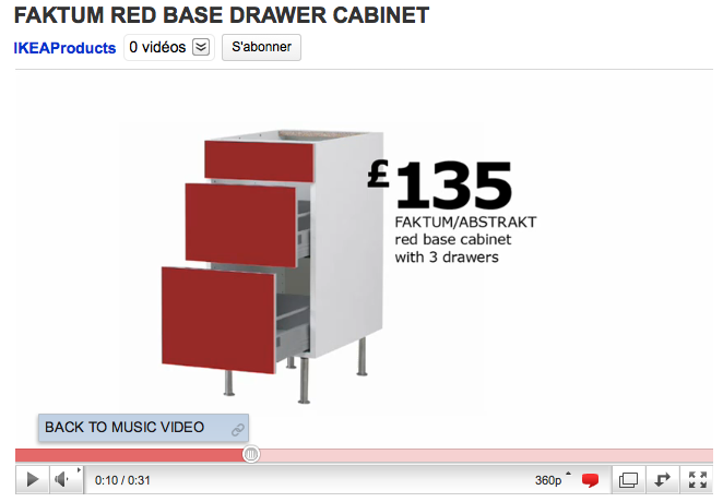 le catalogue ikea en musique sur youtube. Black Bedroom Furniture Sets. Home Design Ideas