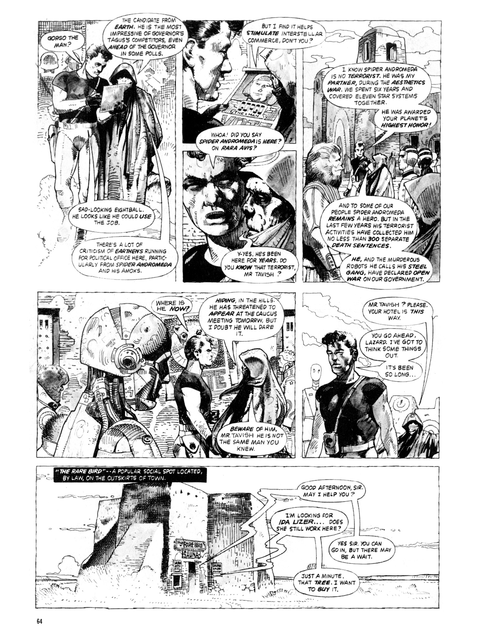 Read online Eerie Archives comic -  Issue # TPB 20 - 64