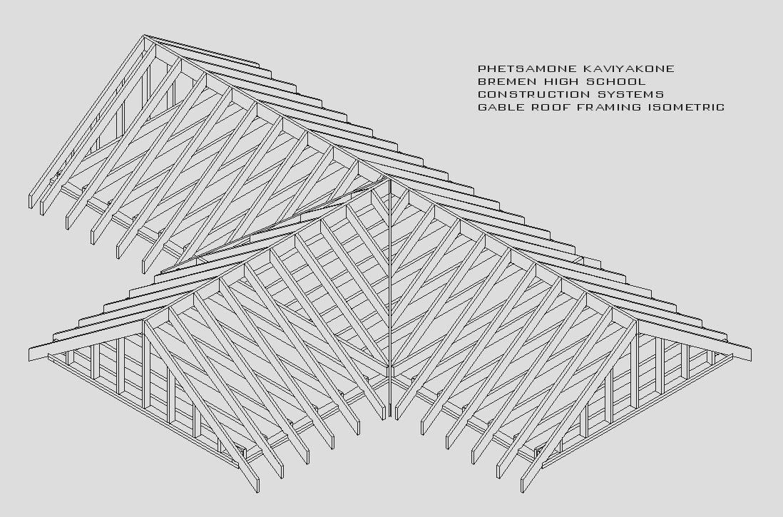 shed roof framing plan