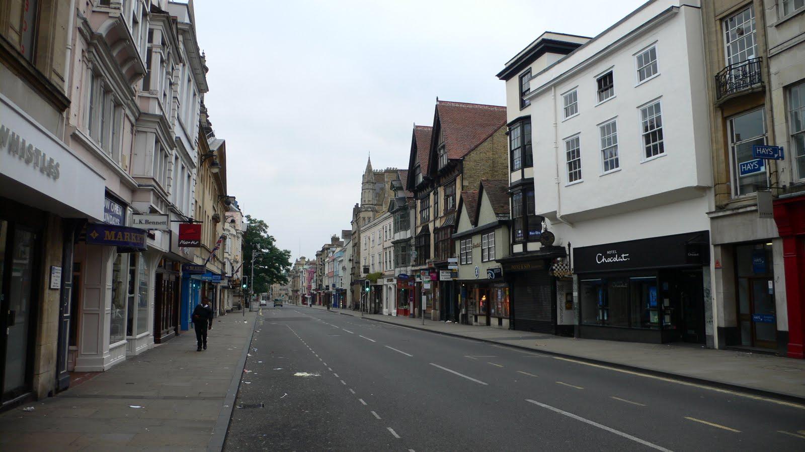 Empty High Street