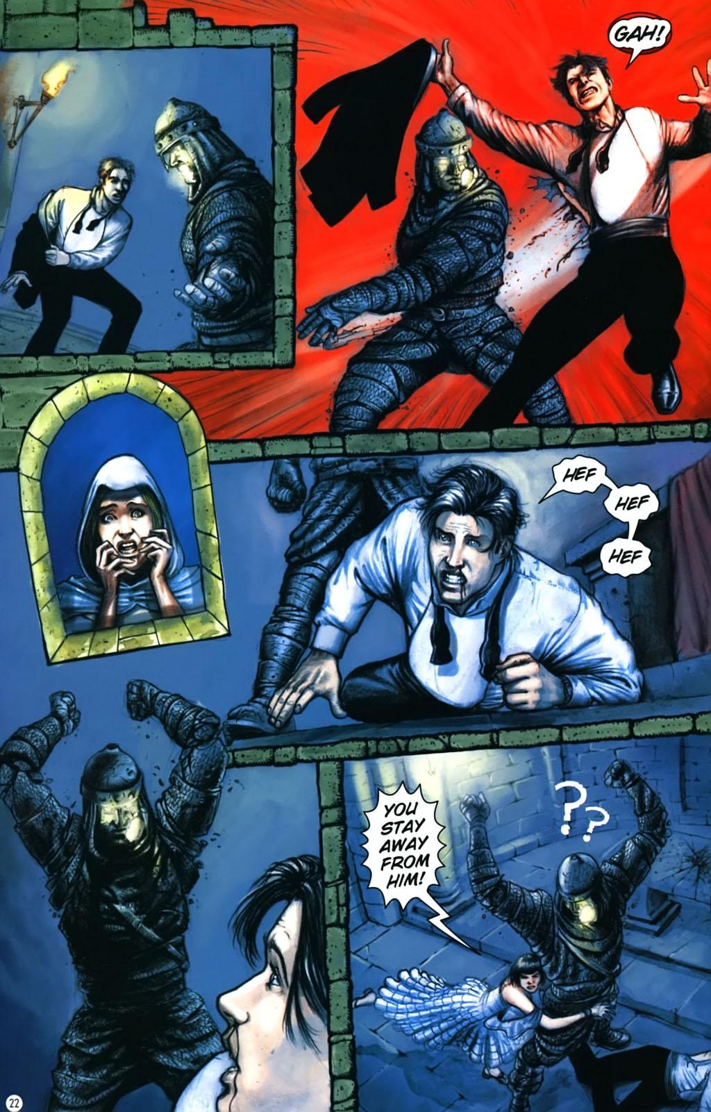 Read online Rex Mundi comic -  Issue #17 - 26