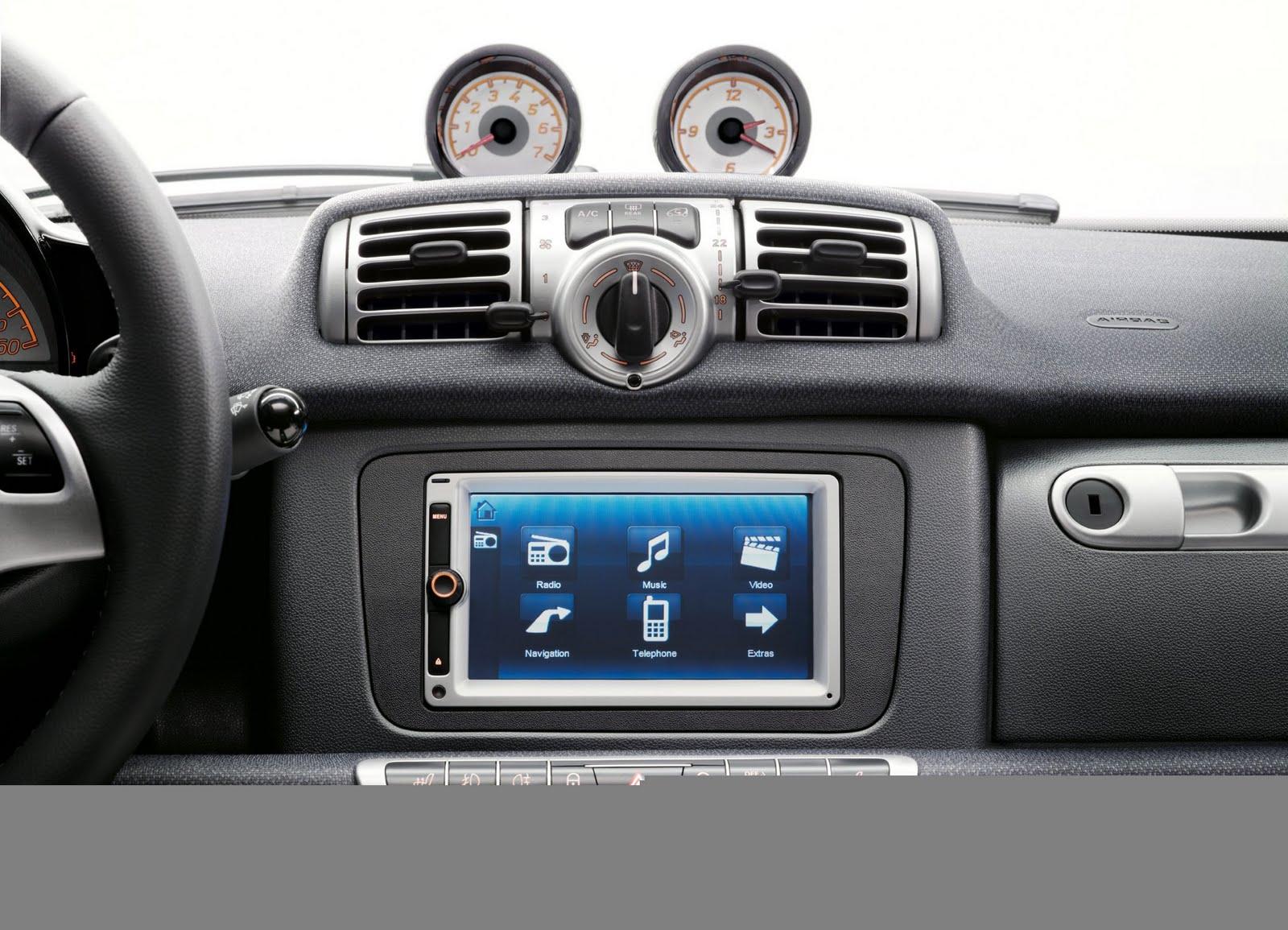 voiture communicante une navigation commande vocale sur la smart. Black Bedroom Furniture Sets. Home Design Ideas