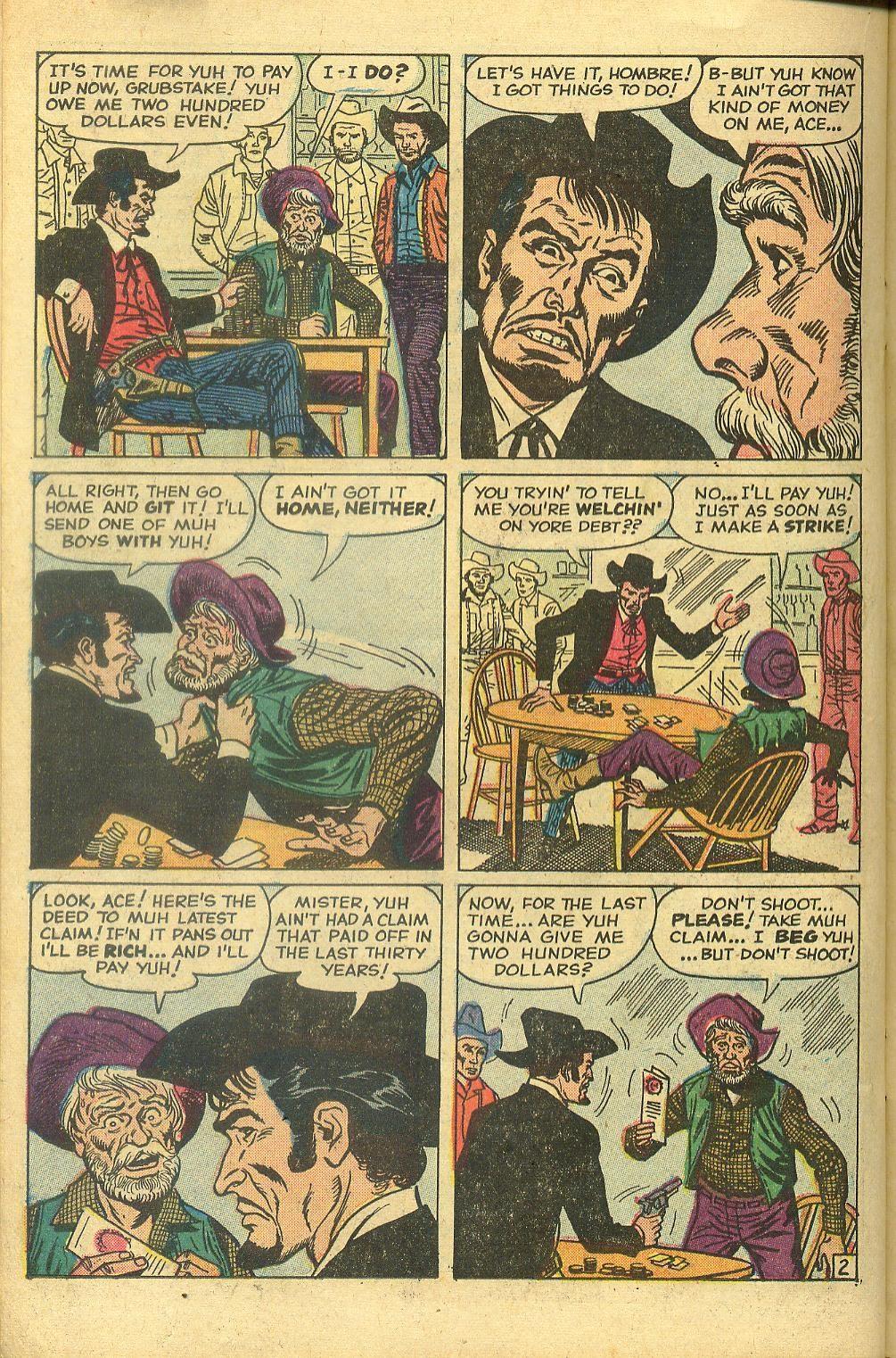 Gunsmoke Western issue 58 - Page 22
