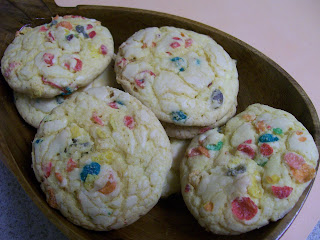 Fruity Pebble Cookies