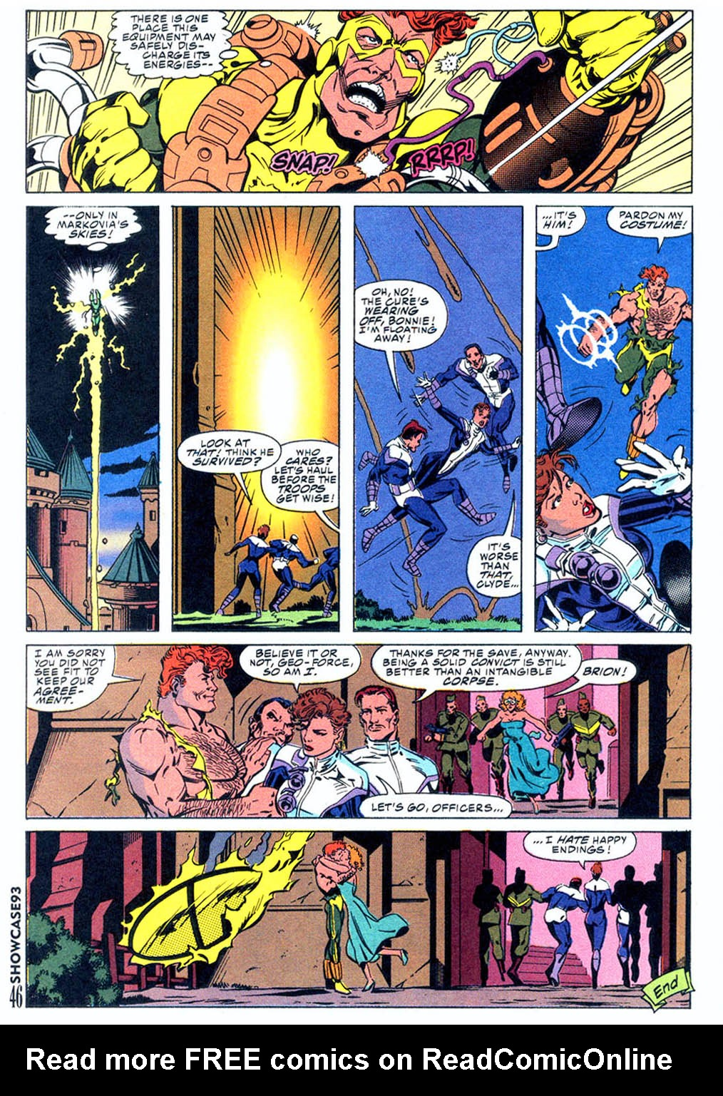Read online Showcase '93 comic -  Issue #5 - 39