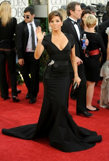 3 Eva Longoria no Golden Globe 2011