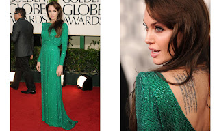 5 Angelina Jolie no Golden Globe Awards!