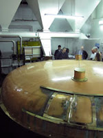 mash tun at knockdhu distillery