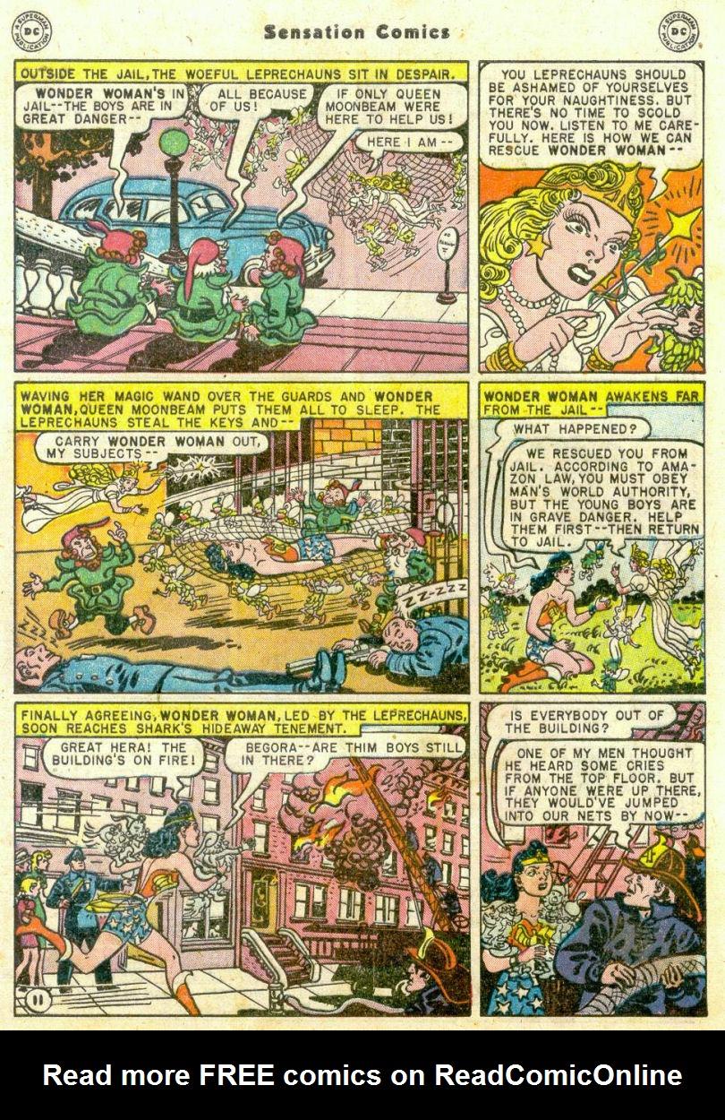 Read online Sensation (Mystery) Comics comic -  Issue #75 - 12
