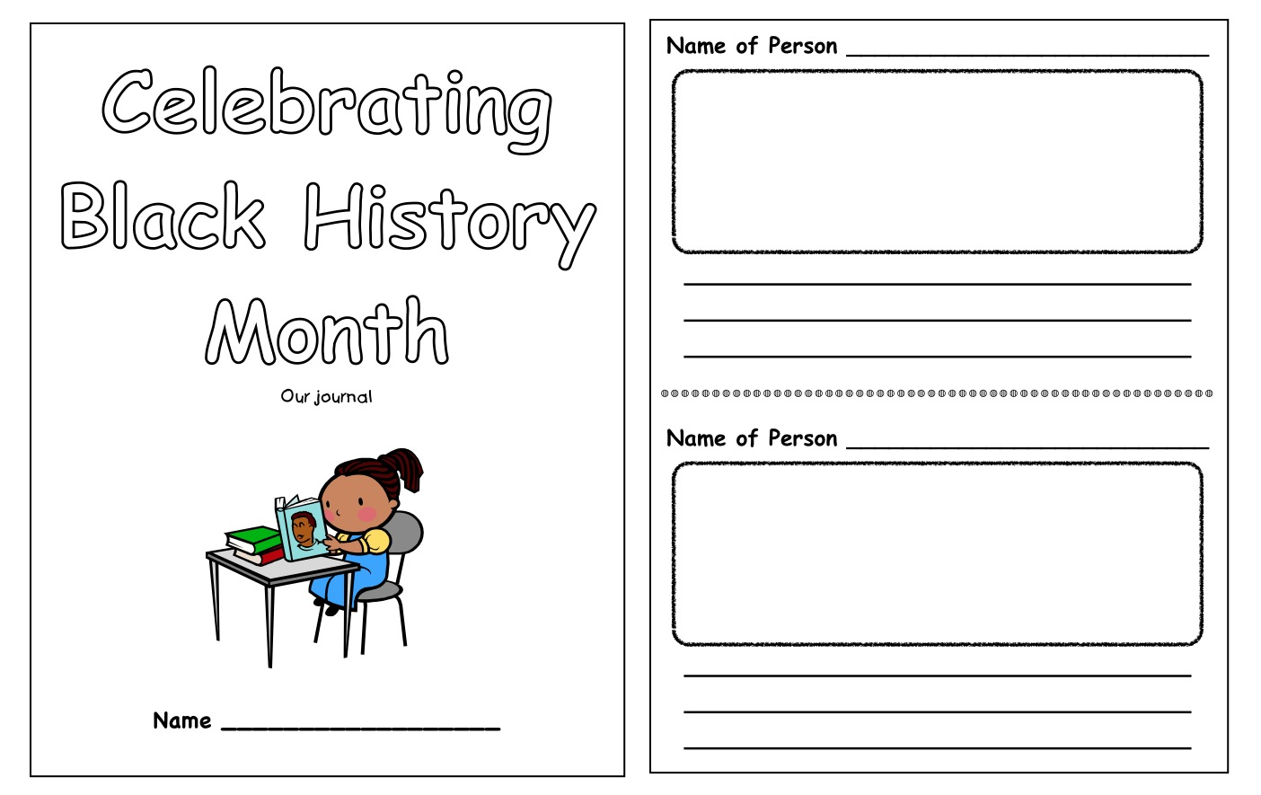 Worksheets Black History Month Worksheets workshop classroom mlk jr quote and black history month our jounal