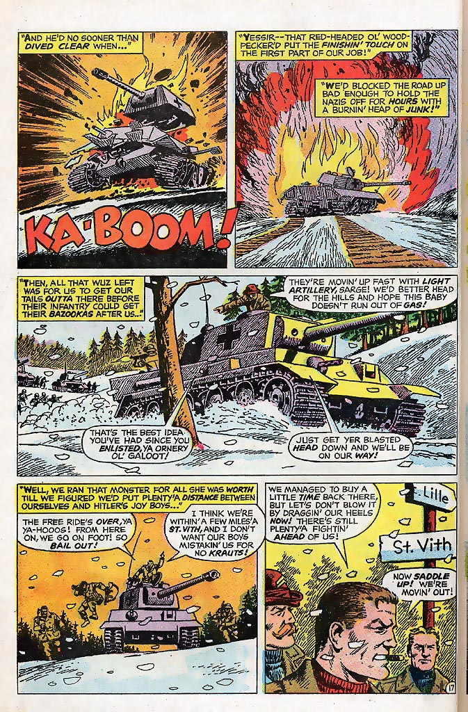 Read online Sgt. Fury comic -  Issue # _Special 4 - 22
