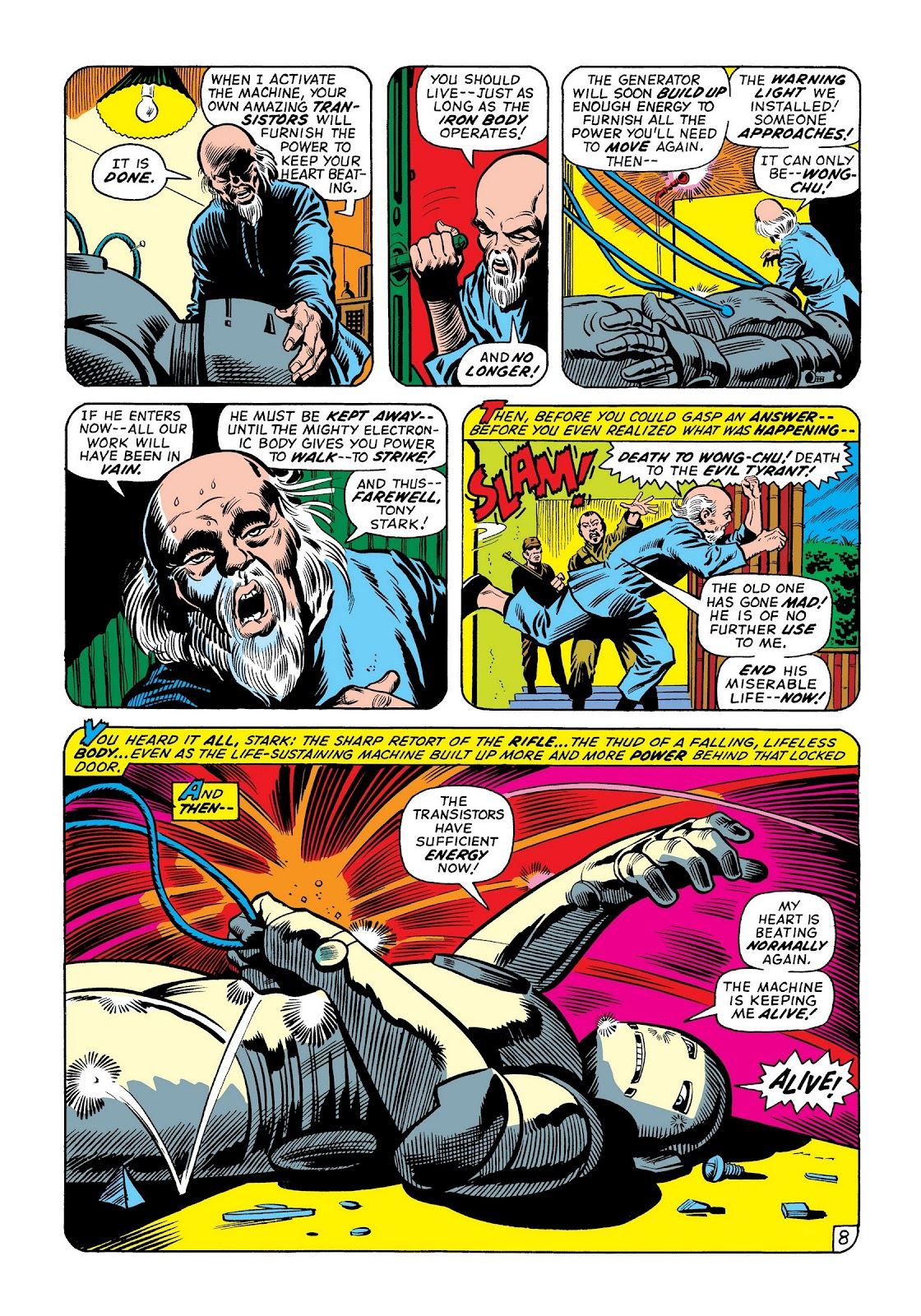 Read online Marvel Masterworks: The Invincible Iron Man comic -  Issue # TPB 8 (Part 2) - 74