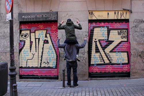 Bristol Artist 45RPM's NoFussJustPhotos —  Madrid
