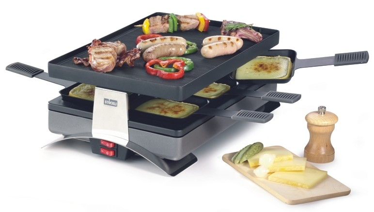raclette corner pizza raclette grill new. Black Bedroom Furniture Sets. Home Design Ideas