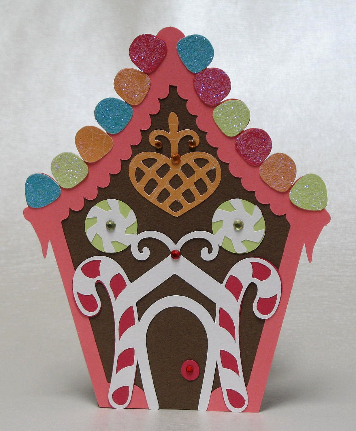 The Paper Boutique: Gingerbread House Christmas Card