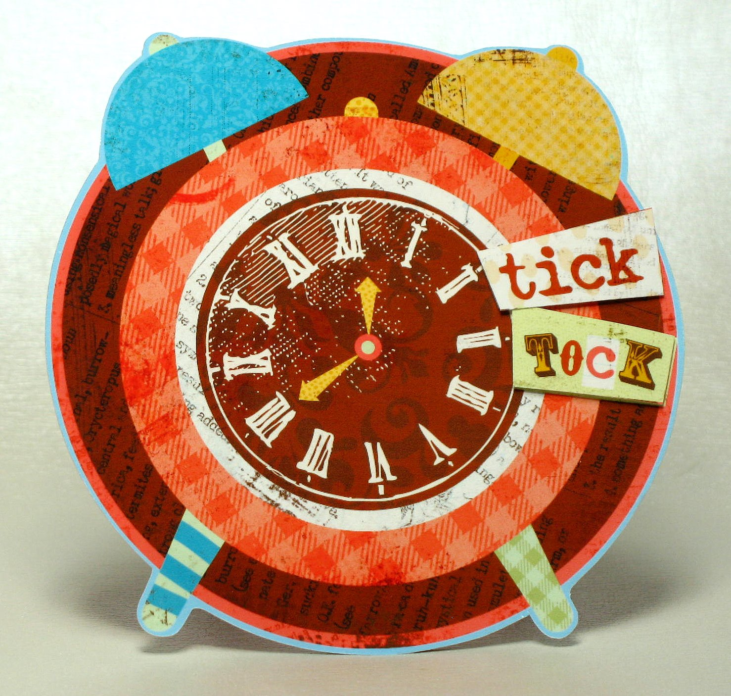 The Paper Boutique: Tick Tock