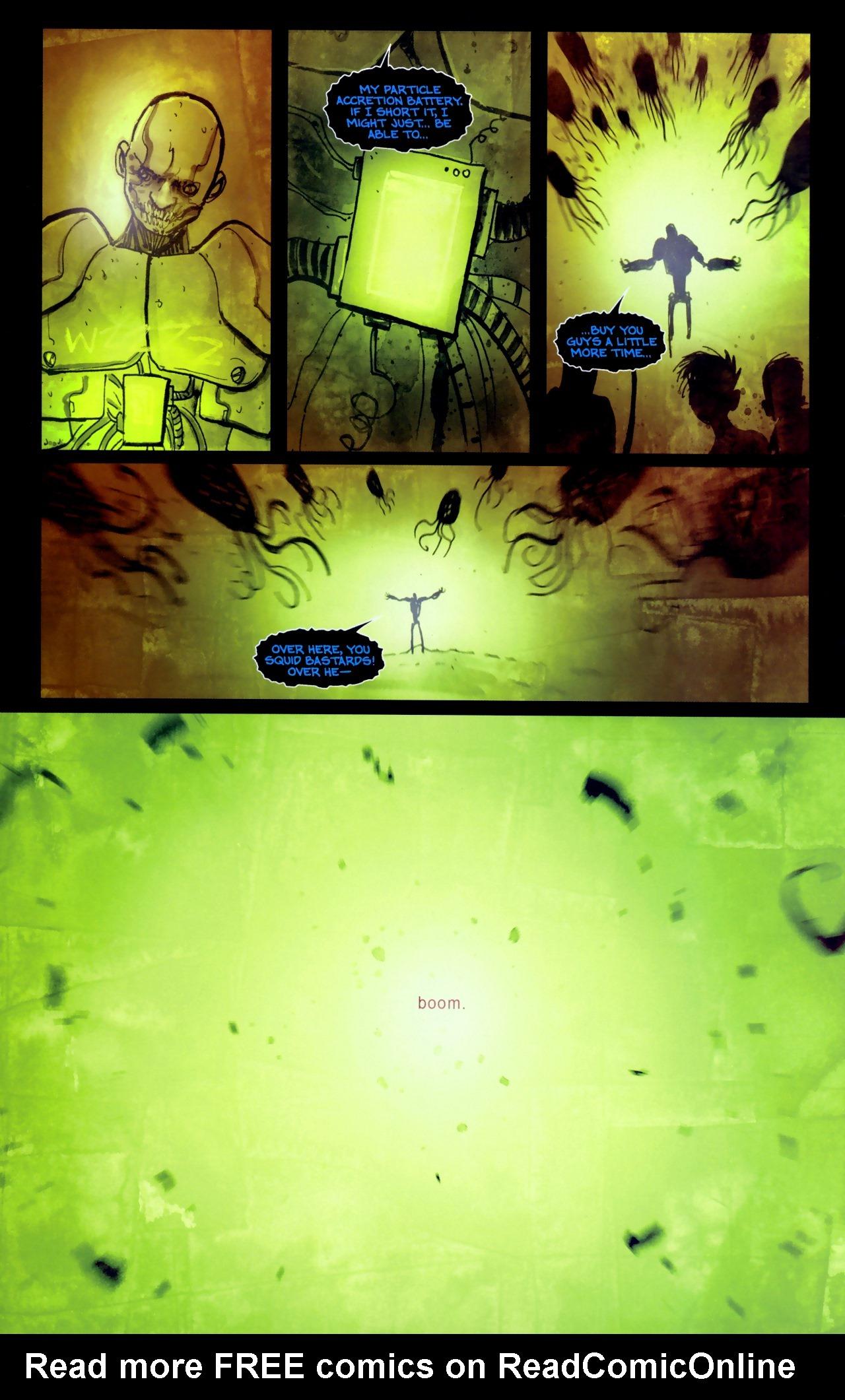 Read online Wormwood: Gentleman Corpse comic -  Issue #11 - 19