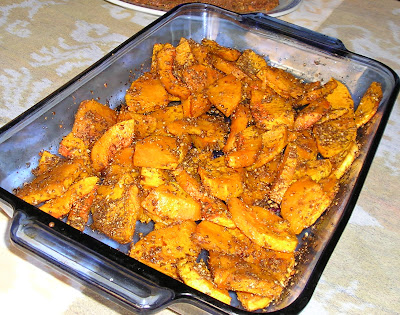 Spicy Roast Butternut Squash