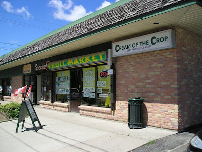 Cream of the Crop fresh produce store