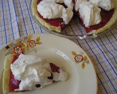 Unbaked Strawberry Pie