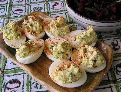 Dragons Breath Devilled Eggs