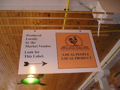 Owen Sound Farmers Market Local Label