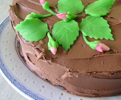 Cake with Marzipan Decorations