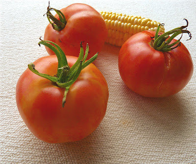 Striped German Tomatoes
