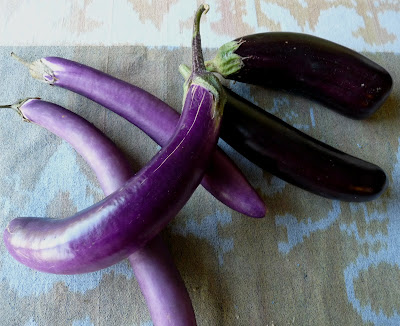 Ping Tung and Little Fingers Eggplants