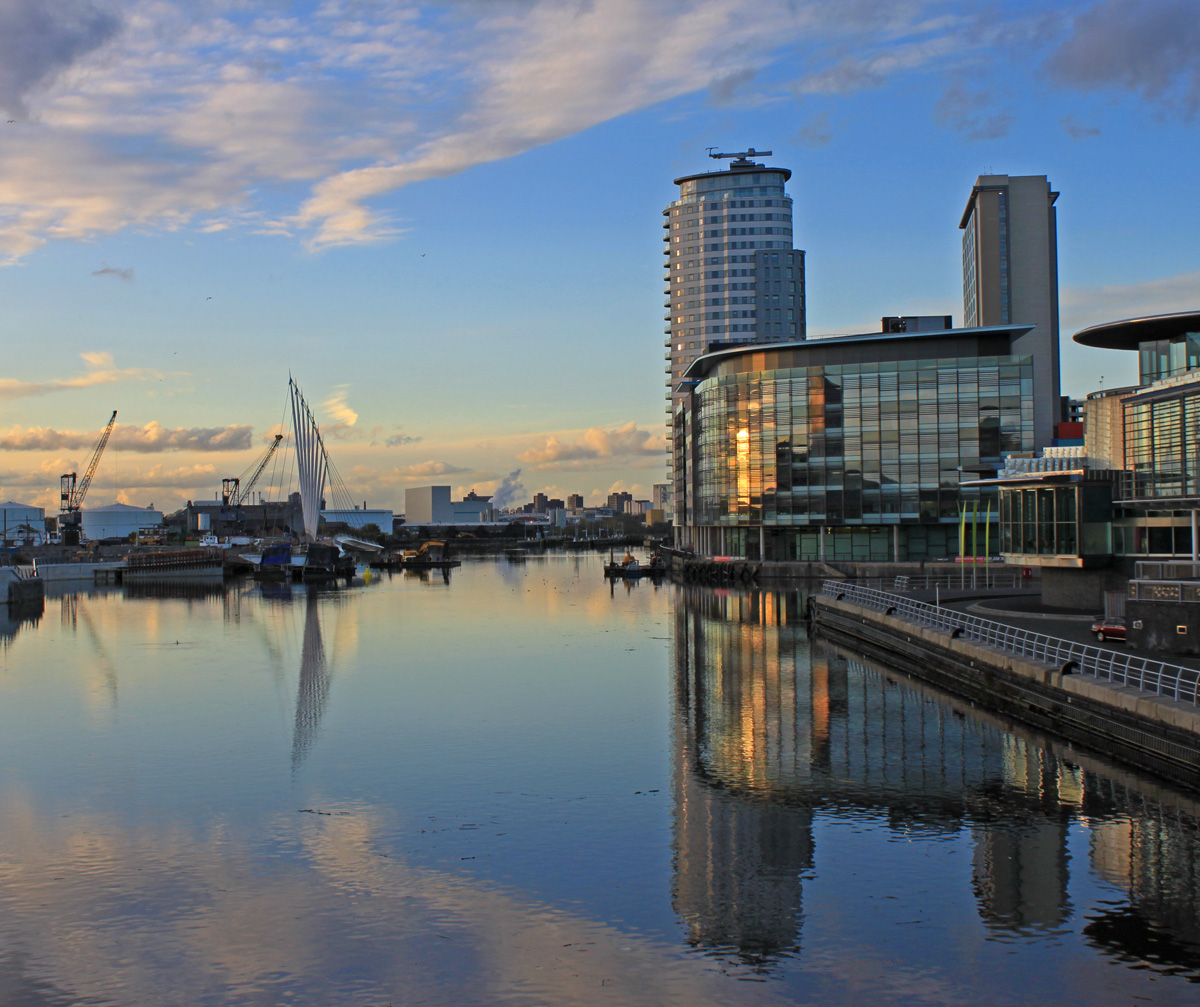 Captain Ahab's Watery Tales: Salford Quays