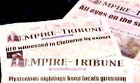 Stephenville Empire Tribune UFO Headlines