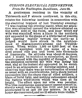 Curious Electrical Phenomenon New York Times 6-25-1883-2