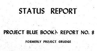 Blue Book Status Report (Cover)
