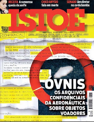 ISTOÉ UFO Files Cover