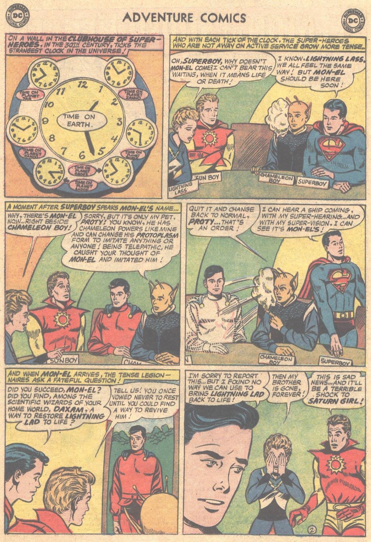 Read online Adventure Comics (1938) comic -  Issue #312 - 4