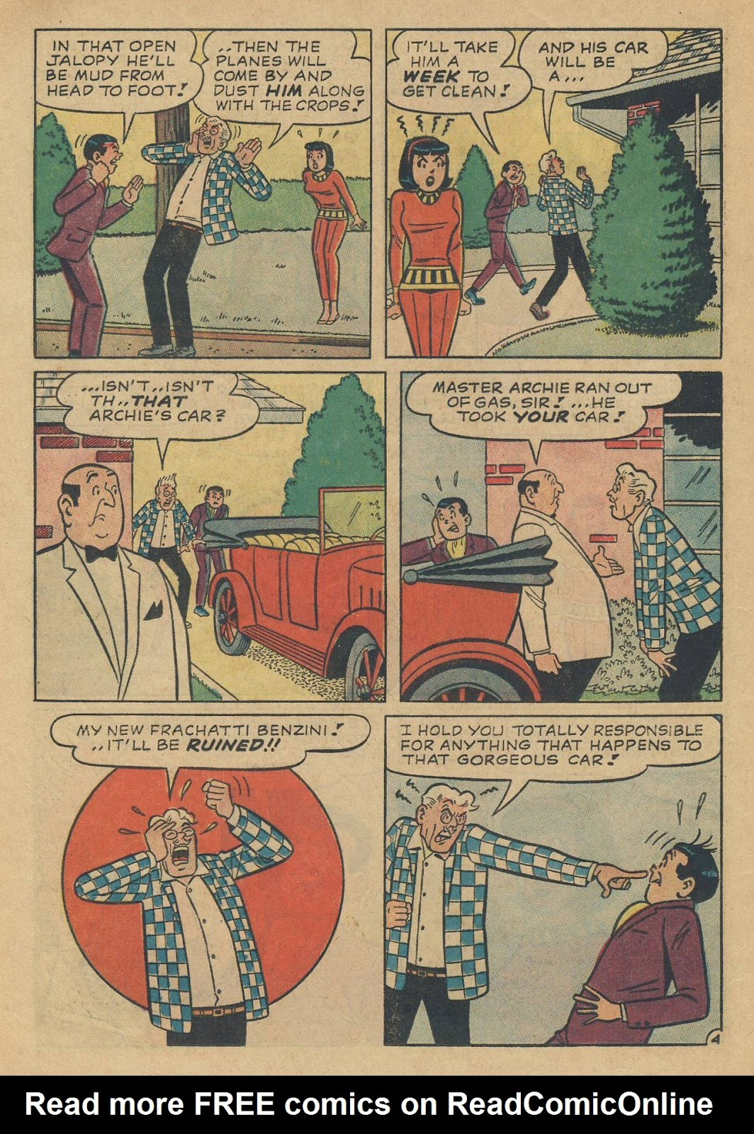 Read online Archie (1960) comic -  Issue #170 - 16