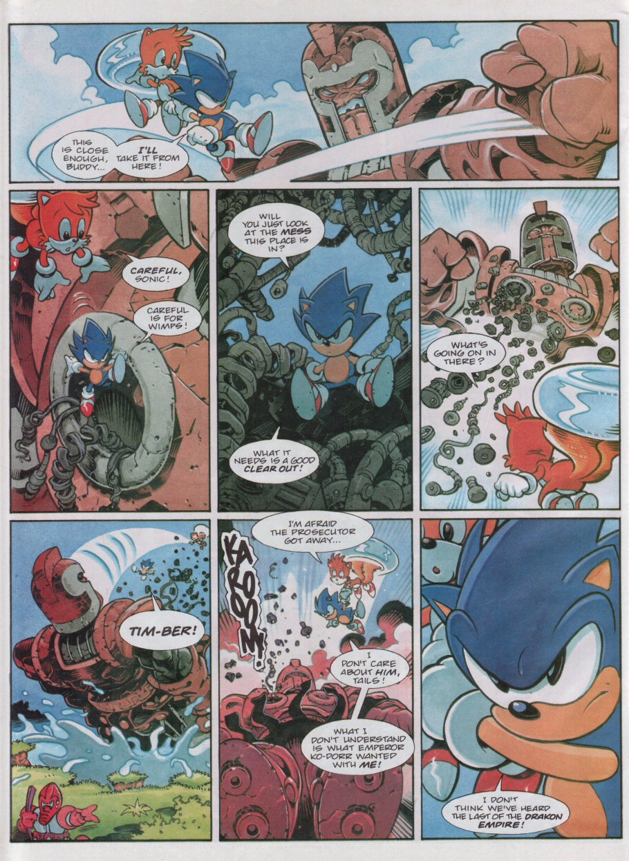 Read online Sonic the Comic comic -  Issue #118 - 8